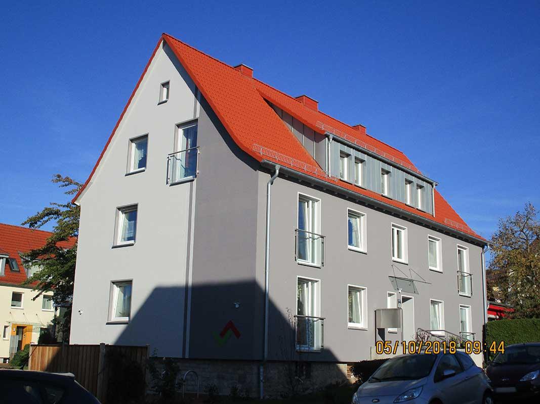 Ansicht des Hauses in der Herminenstraße 2